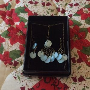 Avon 2011 Mother of Pearl Jewelry Set New